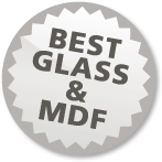 Best glass en MDF